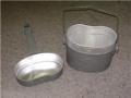 East German Military Aluminum Mess Kits