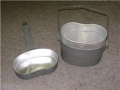 East German Military Aluminum Mess Kits