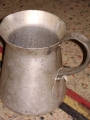 English Military Aluminum Pitcher