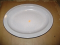 English Military Mess Hall Serving Platters