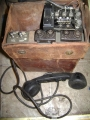 U.S. Military WWII Field Telephone TA-3002