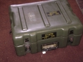 U.S. Military Olive Drab Plastic Storage Box