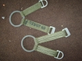 U.S. Military Pole Climbing Ring and Straps
