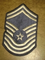 U.S. Air Force Chief Master Sgt. Patches