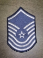 U.S. Air Force Senior Master Sgt. Patches