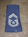 U.S. Air Force Senior Master Sgt. Patches (epaulets)