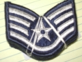 U.S. Air Force Staff Sgt. Patches