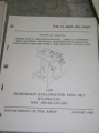 Boresight Collimator Test Set (TS-3784/TAS) Manual
