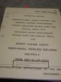Night Vision Sight (AN/PVS-4) Manual