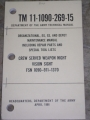 Crew Served Weapon Night Vision Sight (NSN 1090-911-1370) Manual
