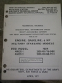 Gasoline Engine (models 4A032-1 and 4A032-2) Manual