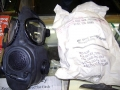 Vietnam Era U.S. Military M17A1 Gas Mask