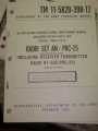Radio Set (AN/PRC-25) Maintenance Manual