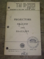 Projectors (PH-637/PFP, PH-637A1/PFP) Technical Manual