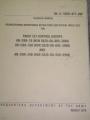 Radio Set Control Groups Technical Manual