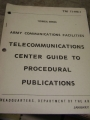 Telecommunications Center Guide to Procedural Publications