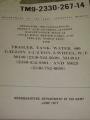 Water Tank (400 gal) Trailer Maintenance Manual