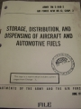 Storage, Distribution, and Dispensing Various Fuels Manual