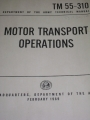 Motor Transport Operations Manual