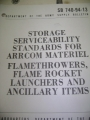 Flamethrowers, Flame Rocket Launchers, Ancillary Items Storage
