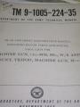 7.62 MM (M60) Machine Gun Technical Manual