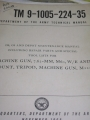 7.62 MM (M60) Machine Gun Technical Manual