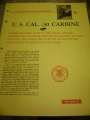 U.S. .30 Caliber Carbine (MI) Booklet