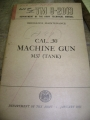 .30 Caliber Machine Gun (M37) Ordnance Manual