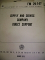 Supply and Service Company Direct Support Manual