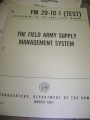 The Field Army Supply Management System Manual