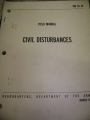 Civil Disturbances Field Manual