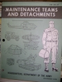 Maintenance Teams and Detachments Manual