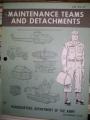 Maintenance Teams and Detachments Manual