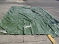 U.S. Army 14' x 44' Rubberized Vinyl Tarp