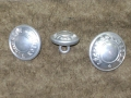 French Legion Etrangere Silver Buttons