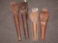 Belgium Military Leather Instrument Pouches (large)