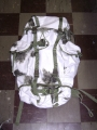German Military Snow Camouflage Backpack