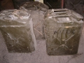 U.S. Military 5 Gallon Metal Water Cans