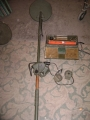 French Army WWII SCR-625 Mine Detector