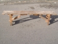U.S. Army WWI Mess Hall Bench