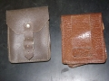 Small Brown Leather Pouch