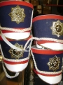 Marching Band Hats (red/white/blue)