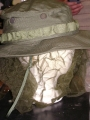 U.S. Army Vietnam Era Olive Drab Boonie Hat w/ Mosquito Net