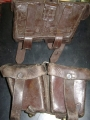 Vintage European Leather Ammo Pouches