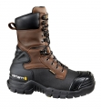 Men's Carhartt 10-inch Insulated Brown Pac Boot/Safety Toe