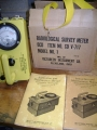 Vintage Radiological Survey Meter V-717