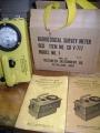 Vintage Radiological Survey Meter V-717