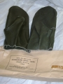 East German Military Leather Mittens (new)