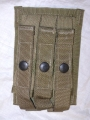 U.S. Military 9mm Magazine Pouch (3 clips)