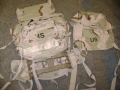U.S. Military MOLLE II 3 Color Desert Pack